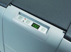 Temperatureinstellungen der Kühlbox
