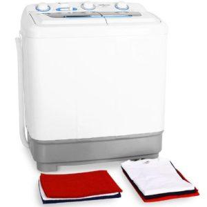 Mini-Waschmaschinen Test_saubere Wäsche